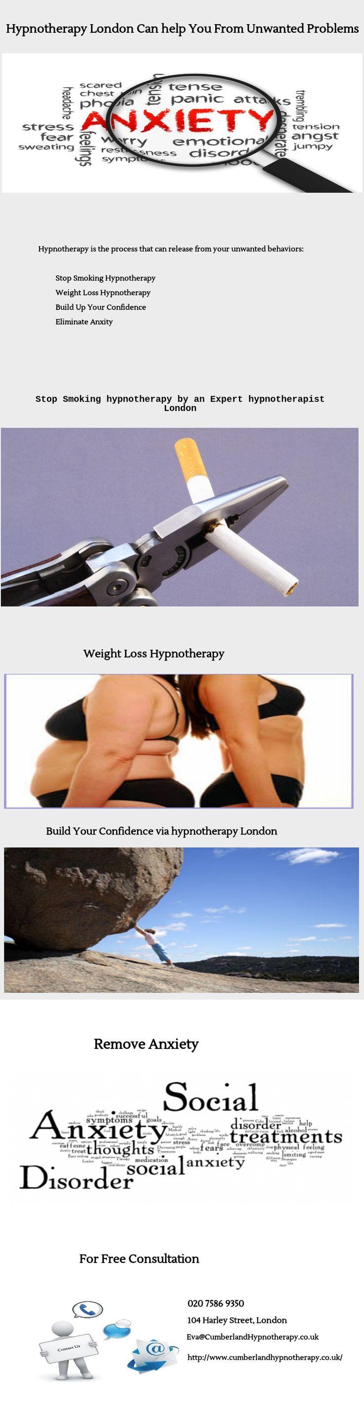 Hypnotherapy London - http://www.advancedhypnosislondon.com
