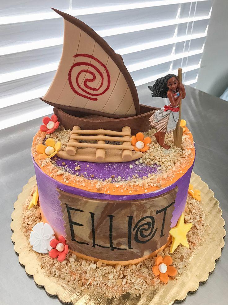 https://flic.kr/p/TF4Xt2 | Moana Cake + Cupcakes