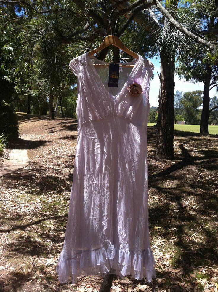 Beautiful Silk Chiffon  Lilac Dress w/slip 78% off - 72HR CLICK FRENZY SPECIAL!