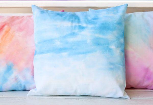 Comment donner un effet aquarelle à du tissu