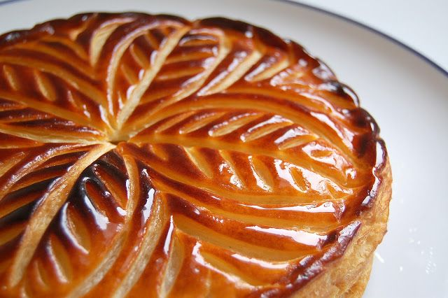 Pithiviers is the name of the galette des rois (twelfth night cake) in France. Here made with a frangipane cream which is a mixture of almond...