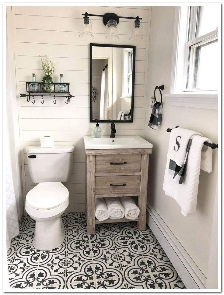 53 surprising ideas and decorations for small bathrooms 26