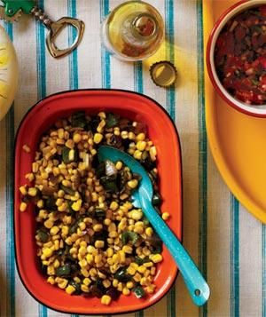 A crowd-pleasing Mexican fiesta, spiced up with surprising yet simple dishes.