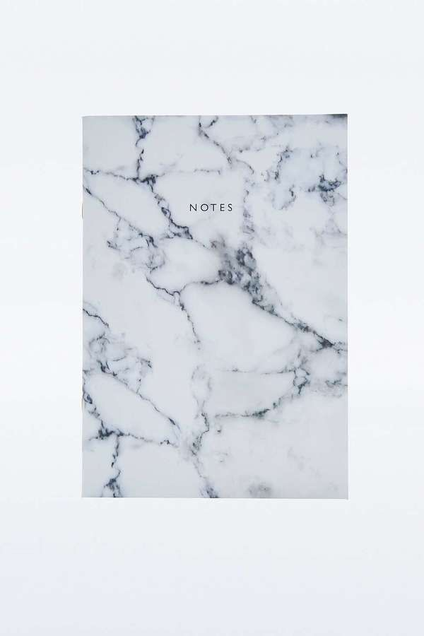 Black & White Marble Notebook