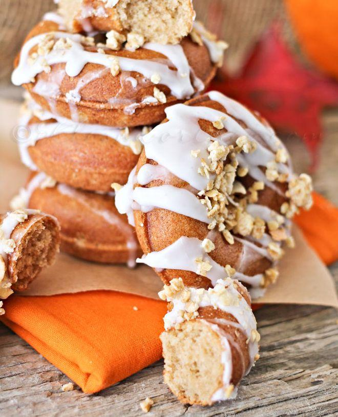 Pumpkin Butter Doughnuts