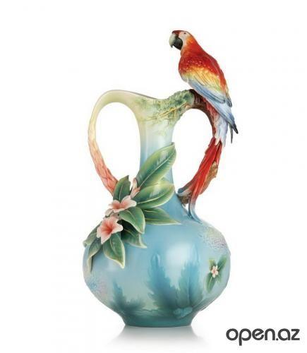 """Изысканные фарфоровые изделия компании """"FRANZ Porcelain""""."""