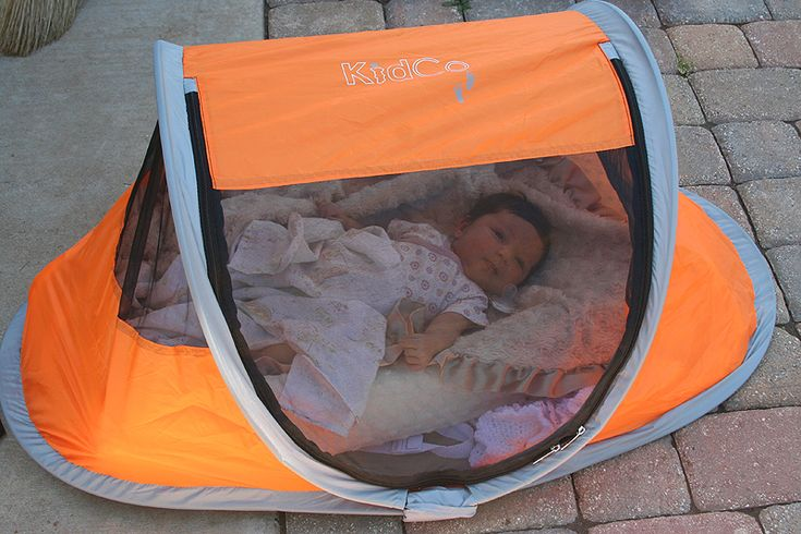 baby tent...really?!  So, if a bear gets to the baby's tent first...really don't get this...
