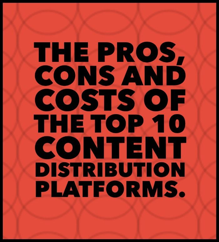 the pros and cons of social platforms in online marketing Everyone involved needs to understand the pros and the cons on social media   are children exposed to increased danger online  also be an integral part of  changing the face of marketing on the social media platform.