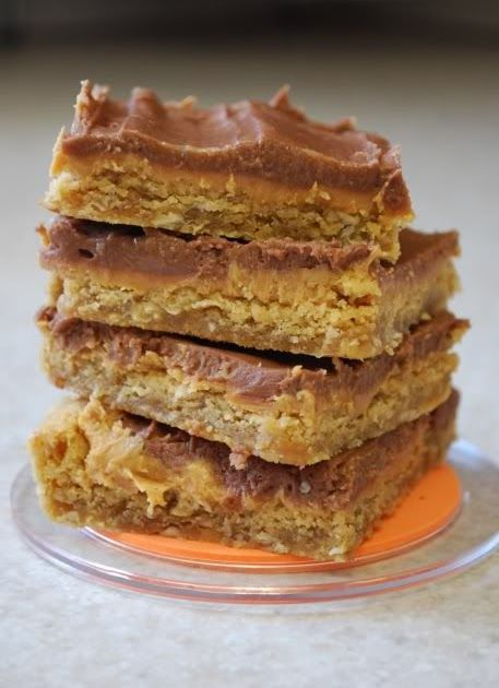 Everyone remembers these yummy peanut butter bars from school days!  Every time I make these, nostalgia kicks in and I feel like a little s...