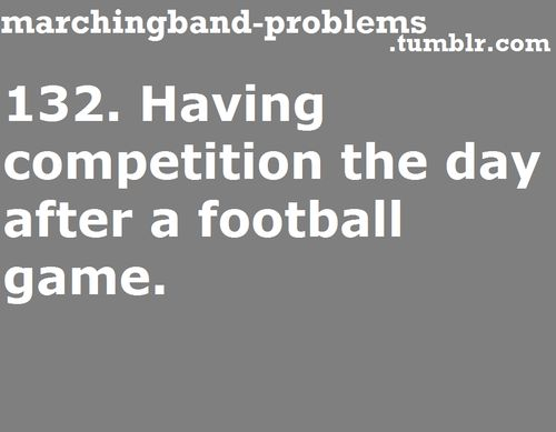 marching band problems | Tumblr