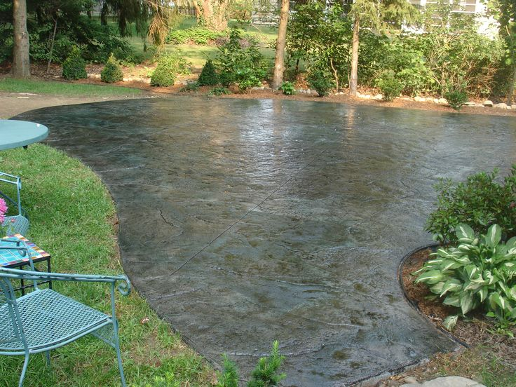 Cement Ideas For Backyard one day backyard projects Best 25 Outdoor Patio Flooring Ideas Ideas That You Will Like On Pinterest Stained Concrete Patio Flooring And Stain Concrete Patios