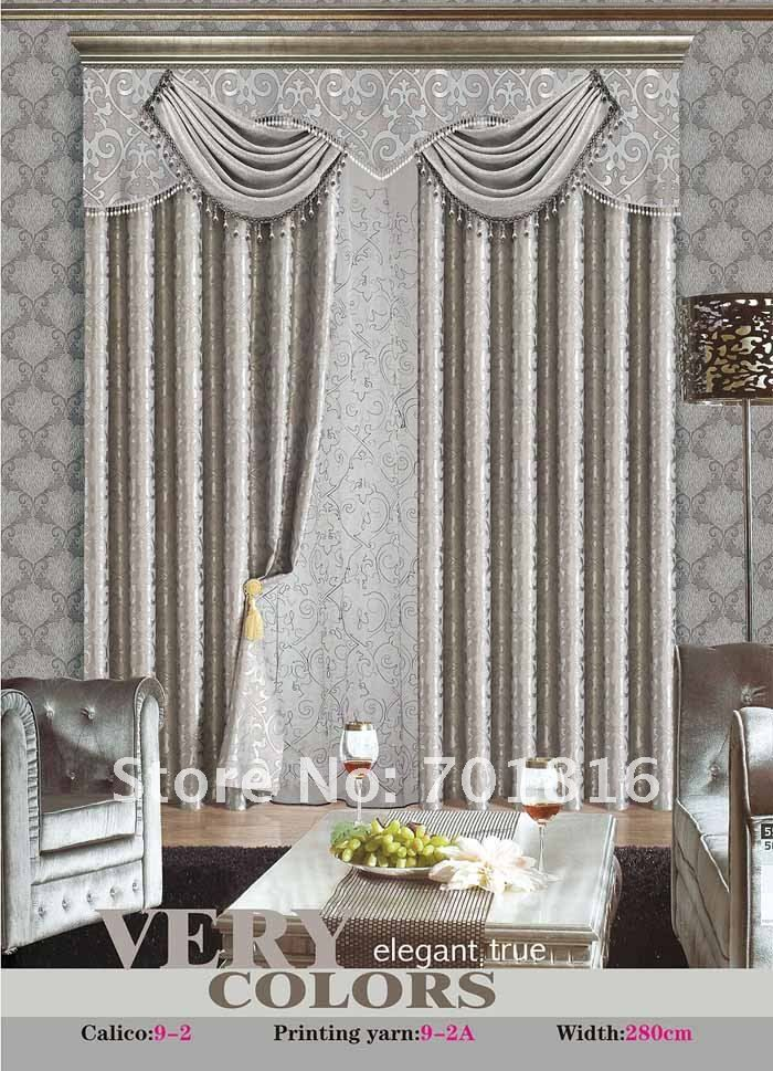 Grey Silver Pelmet Valance Amp Drapes Curtains