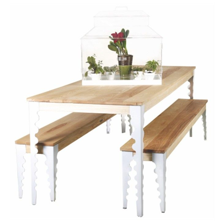 ESSENTIAL LIFE | Reflection Patio Table - Furniture - 5rooms.com