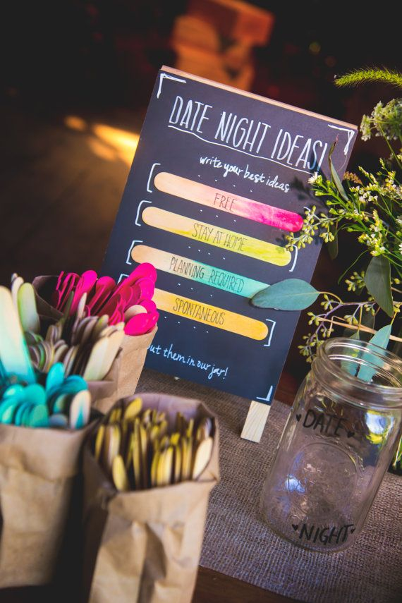 25 Best Ideas About Date Night Jar On Pinterest Wedding