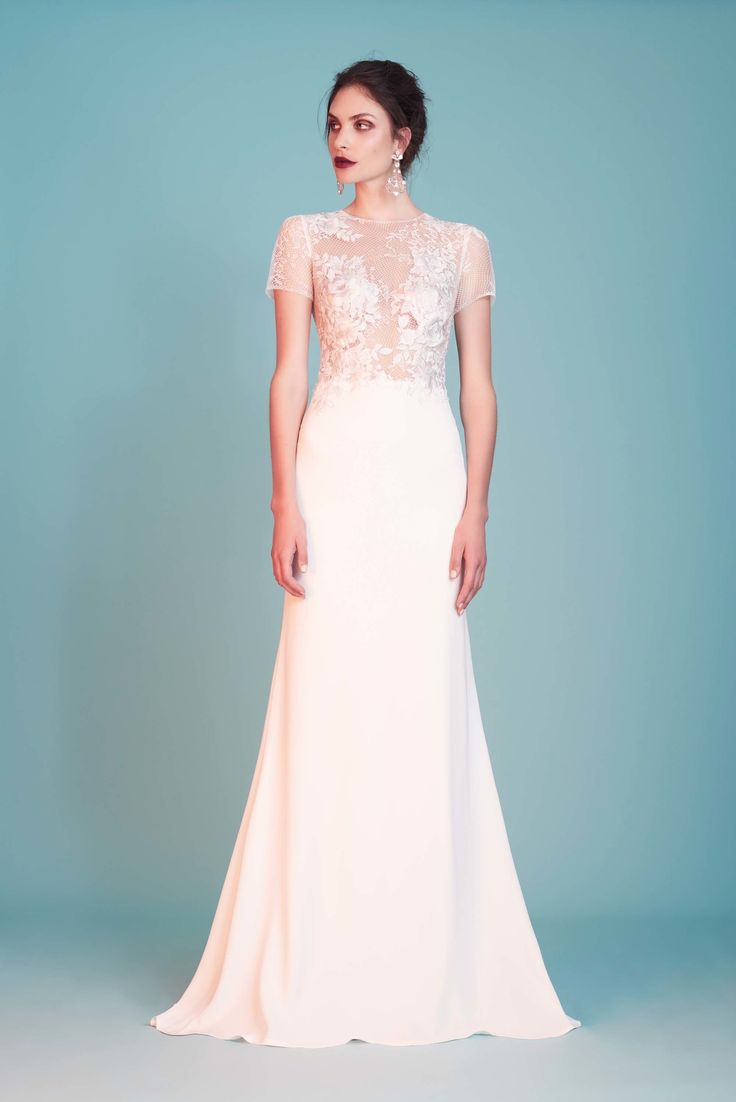 25 best WEDDING GOWNS images on Pinterest | Short wedding gowns ...