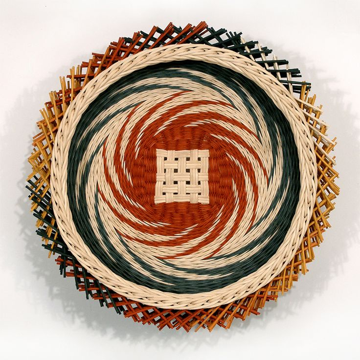 The Art Of Basketry By Kari Lonning : Fresh pinwheel by kari lonning http karilonning
