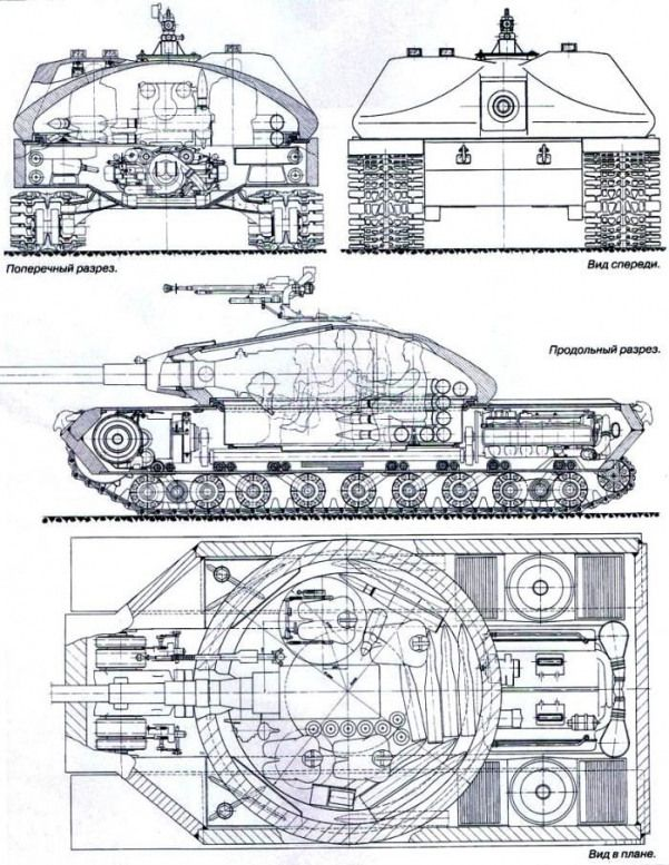 Heavy tank project K-91. THE USSR. 1949 #bugattiveyron #bugatti #veyron # blueprint | War tank, Armored fighting vehicle, Military vehicles