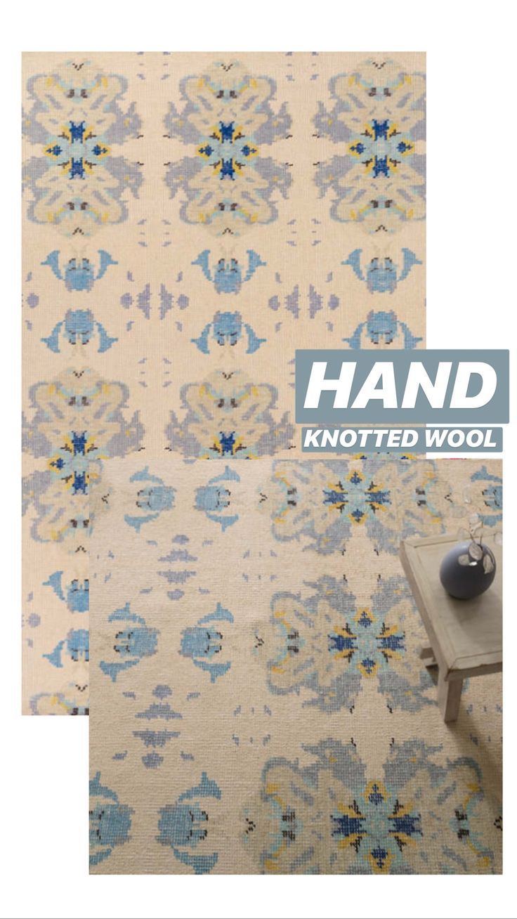 Dorm Room Rugs: Hand Knotted Wool Rug