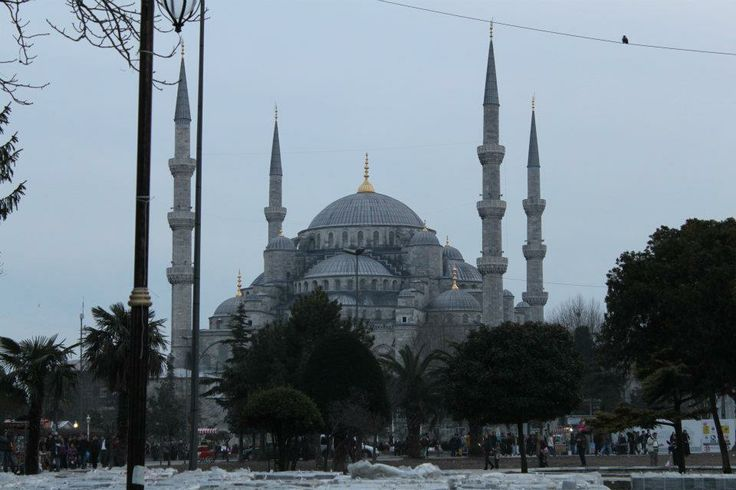 The Blue Mosque....a huge mosque in the middle ofthe city