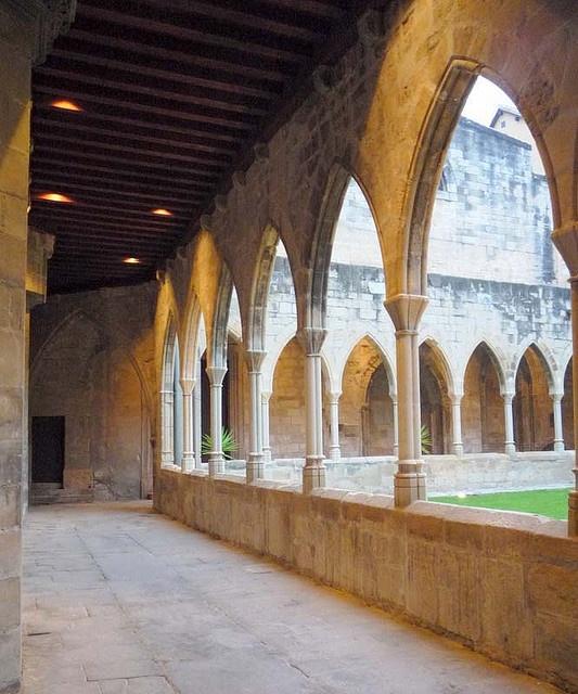 cloister Tortosa  Tarragona