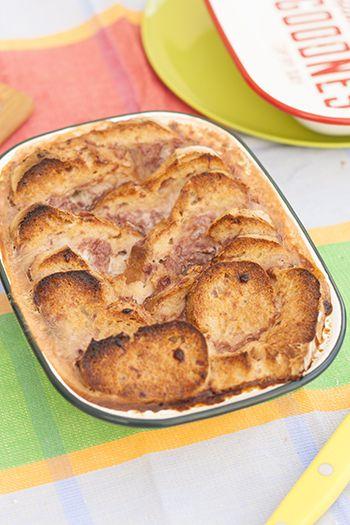 Pudin de pan, deliciosa receta de aprovechamiento. Aprende a hacer esta receta paso a paso.