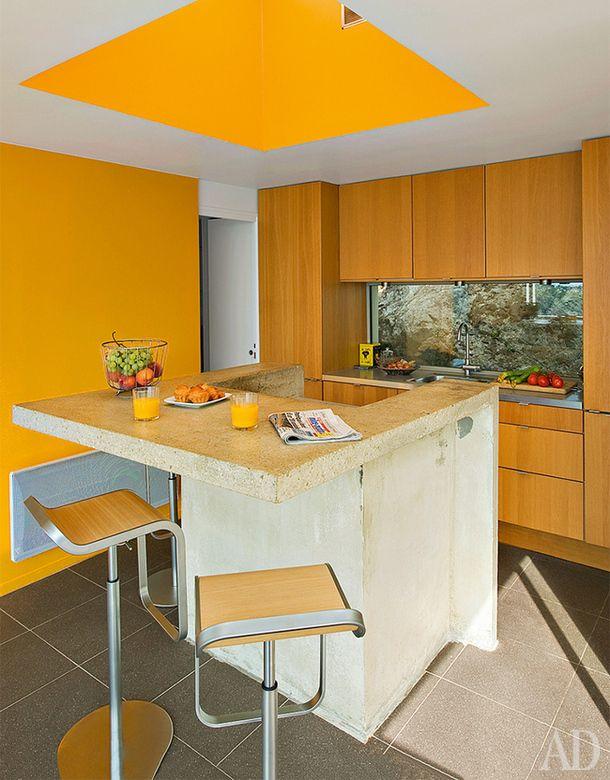 Квартира в Сен-Жан-Кап-Ферра, дизайнер и владелец Эггерт Шредер.