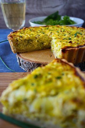 Lauch-Käse-Quiche I Leek-cheese-quiche
