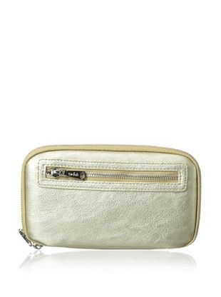48% OFF co-lab by Christopher Kon Women's Zip-Around Wallet, Gold
