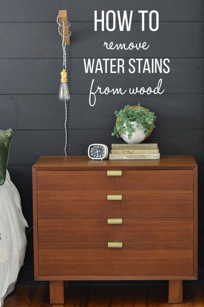 How To Remove Water Stains From Wood Furniture Remove Water Stains Cleaning Painted Walls Wood Table