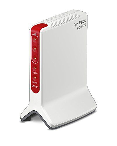 AVM Fritz. Box 6820LTE (LTE (4G) jusqu'à 150Mbit/s, UMTS (3G) jusqu'à 42Mbit/s, WiFi N jusqu'à 450Mbit/s, 1x Gigabit LAN Version internationale rouge/blanc #Fritz. #LTE #(LTE #jusqu'à #Mbit/s, #UMTS #WiFi #Gigabit #Version #internationale #rouge/blanc
