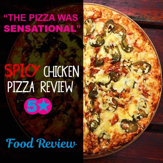CLICK TO READ A REVIEW on our #homemade #Spicy #Chicken #Pizza!   #TastyFood #KZNsouthcoast #foodporn #foodie #Yum