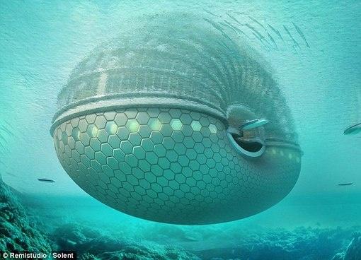 подводный отель фото