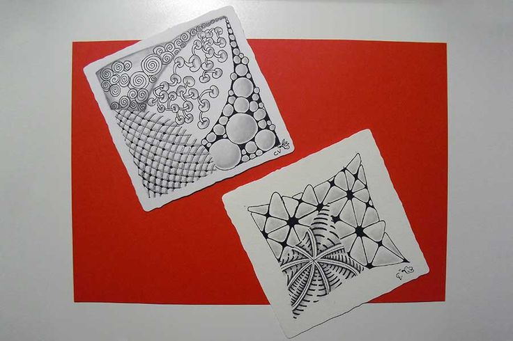 Un método de creación artística, #zentangle