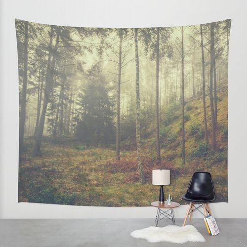 They whisper things Wall Tapestry by HappyMelvin | Society6