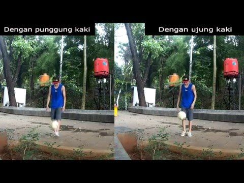 Tutorial Juggling atau Timang Bola | Teknik Sepak Bola | Latihan Dasar S...
