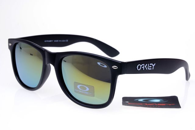 Oakley Frogskins Sunglasses Black Frame Colorful Lens 0421  $25.00