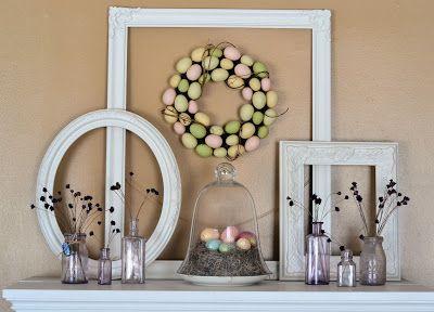 Shabby Love: Spring Mantle