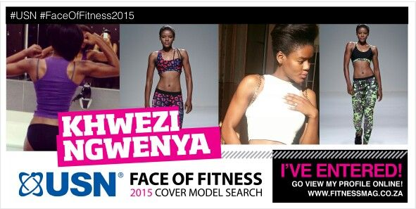 #USN #FaceOfFitness2015  @usn @FitnessMag @usnsa  #fitness #health #gym #hardwork  I Entered !!!  Please view my profile and share it 2 vote http://www.fitnessmag.co.za/usn-cover-search/entries-of-2015/gallery/khwezi-ngwenya/  Share SHARE share SHARE