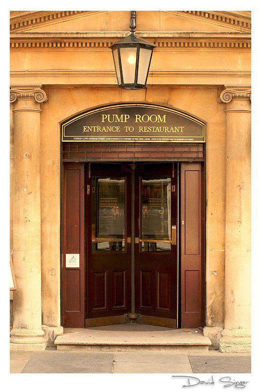 Pump Room, Bath, Somerset