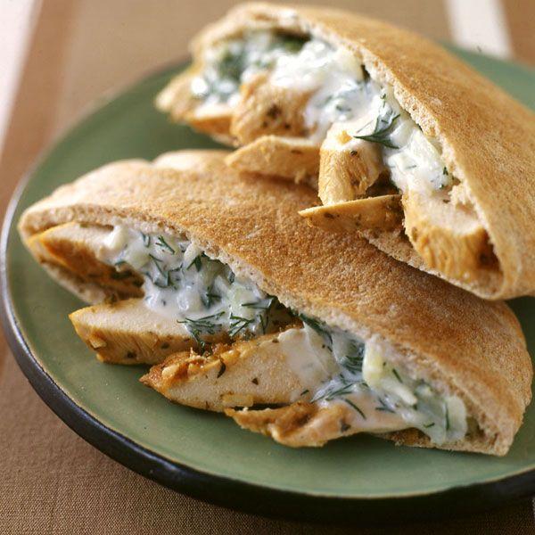 Weight Watchers Recipes | WeightWatchers.com: Weight Watchers Recipe - Chicken Souvlaki Sandwich