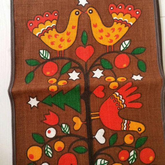 Modern scandinavian tablecloth / runner door scandinavianseance