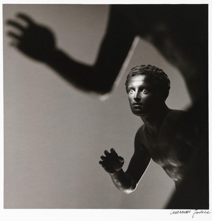 """Mimmo Jodice - Atleti della Villa dei Papiri Museo Nazionale Napoli, 1986 - Mart, Collezione M. Trevisan - """"La Magnifica Ossessione"""" www.mart.tn.it/magnificaossessione"""