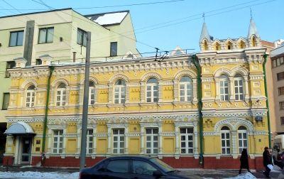 Большая Полянка, Большая Полянка, 61 — двухэтажный дом XIX века.