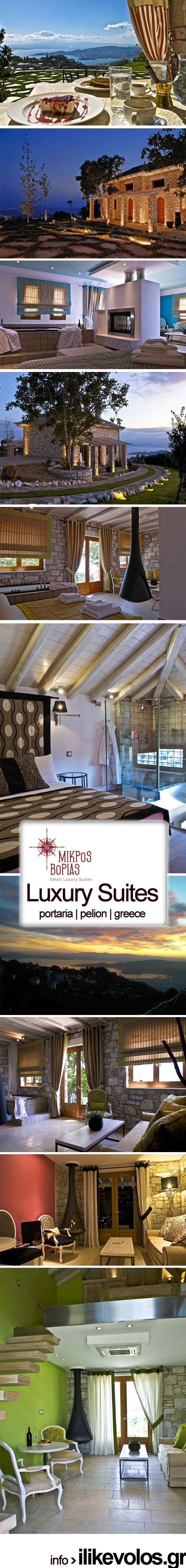 MIKROS VORIAS | Small Luxury Suites in Portaria, Pelion