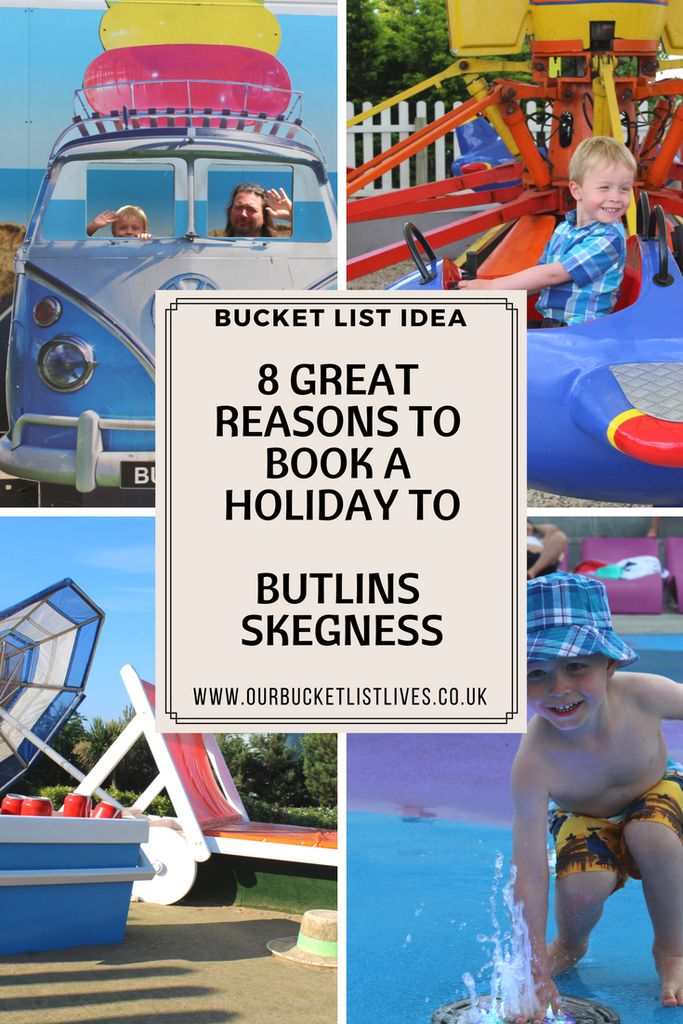 8 great reasons to book to a holiday to Butlins in Skegness. We LOVE Butlins and I am sharing with you exactly why we love it. It's a perfect family holiday. There's so much to see and do that's already included in the price you paid #butlins #Skegness #lincolnshire #travel #familytravel