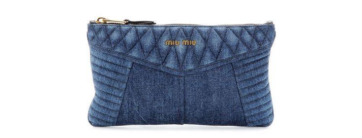 Miu Miu http://www.vogue.fr/mode/shopping/diaporama/shopping-jean-total-denim/19054/image/1006705#!miu-miu-pochette-en-jean-shopping-ete-denim-jean