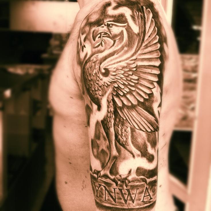 #lfc #ynwa @pontus_alternativeart #ink #tattoos #liverbird  Made by Pontus Jonsson - Alternative Art at Electric Linda's studio in Moss Norway september 2012
