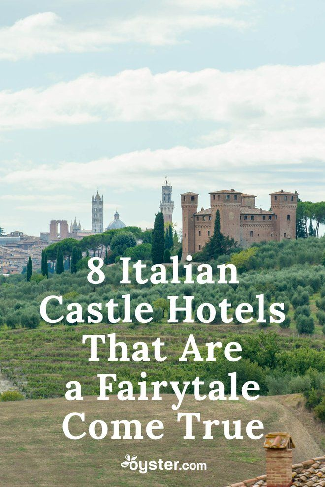 "Once upon a time, you were sitting in your office cubicle daydreaming about what it would be like to be a king or queen. But today, you can turn that fairytale reverie into reality, thanks to Italy. The boot-shaped country happens to be home to some of the most spectacular castles-turned-hotels in the world (and here, you thought it was all ruins). To help you get a taste of the finer life, we've compiled a list of eight Italian castle hotels that merit the word ""wow."""