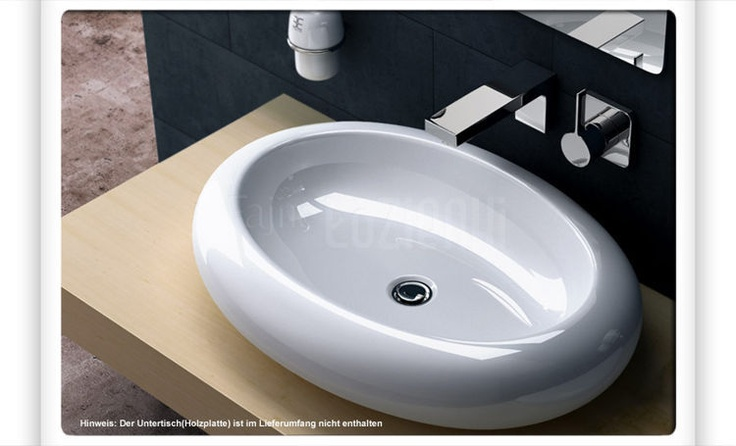 ceramic washbasin Luna #umywalka #bathroom #lazienka