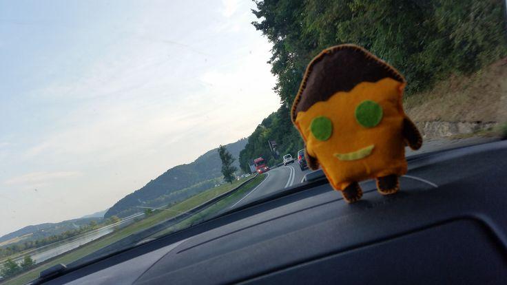 Tosiek jedzie w góry